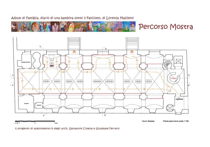 Percorso Mostra Album di Famiglia di Lorenza Mazzetti - 1