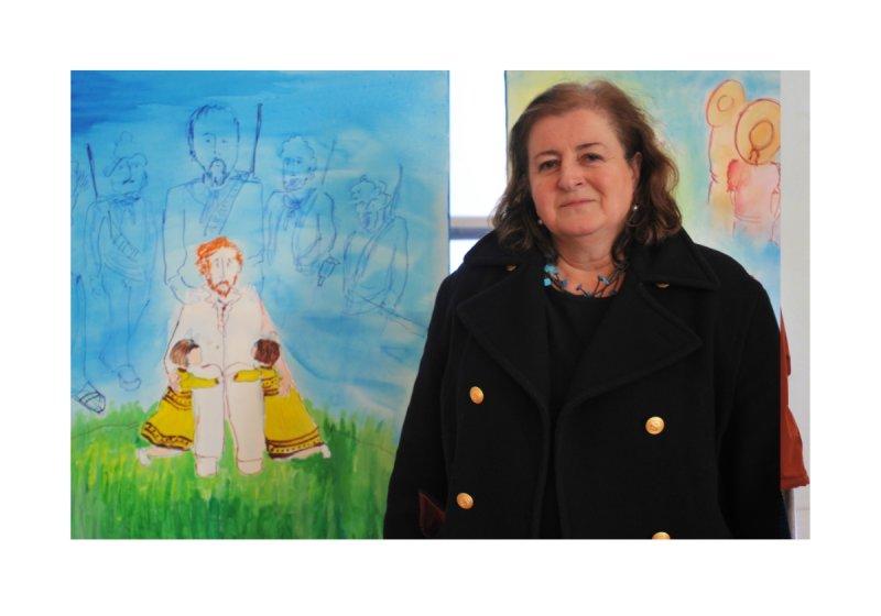 Alla Mostra Album di Famiglia, di Lorenza Mazzetti. Isabella Droandi 04