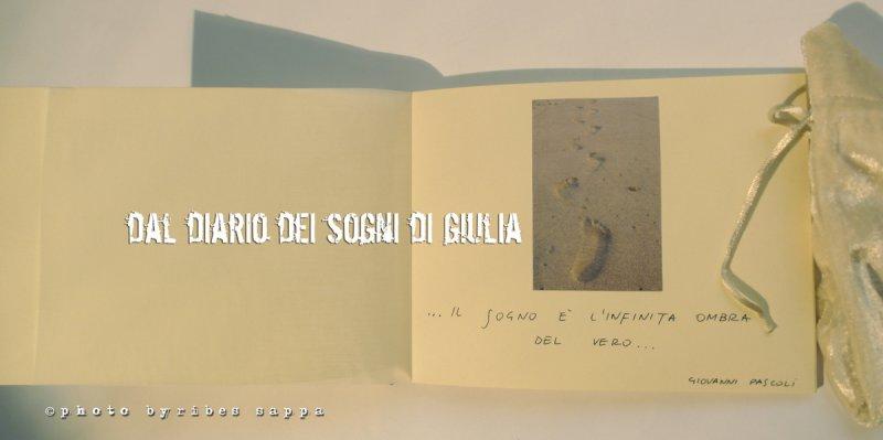 dal diario dei sogni di Giulia