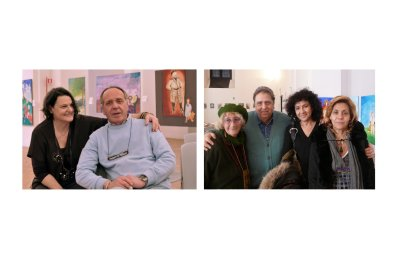Alla Mostra Album di Famiglia. Lola e Riki 028, Lorenza, il pittore Georges de Canino