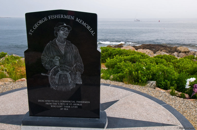 St. George Maine fishermens memorial