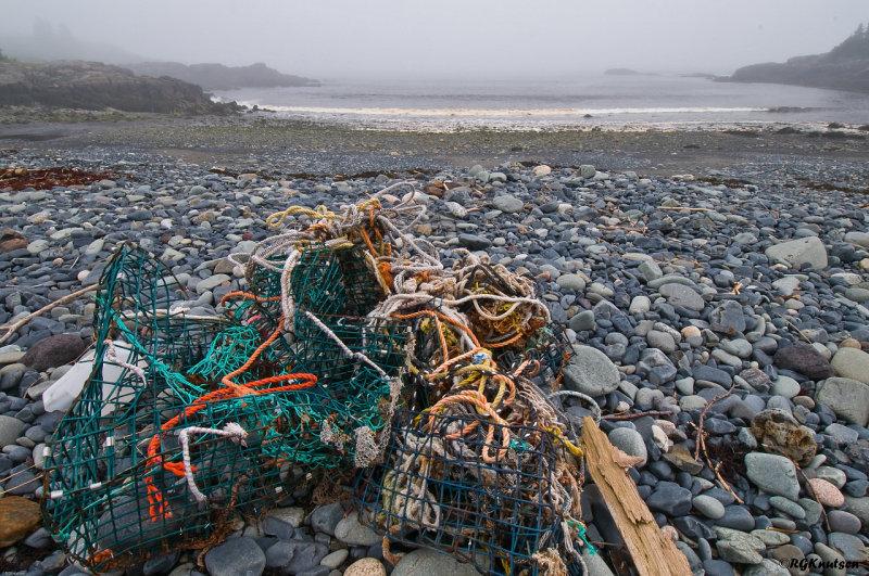 Hamilton Cove Preserve - Beach litter