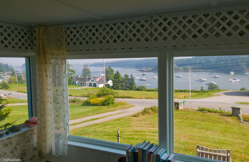 Cutler Maine - Little River Lodge view