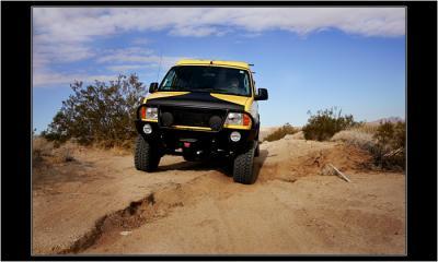 First Off-roading :) Mojave Desert, Nevada