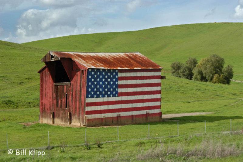 Vasco Road Flag Barn