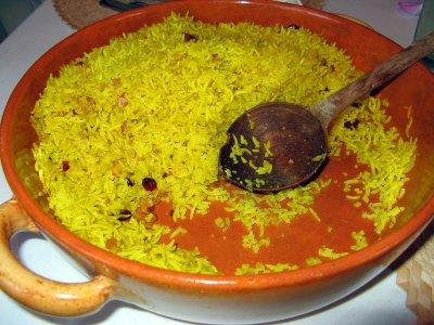 Golden Basmati Rice Pilaff