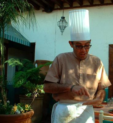 Chef Carlos Escudero