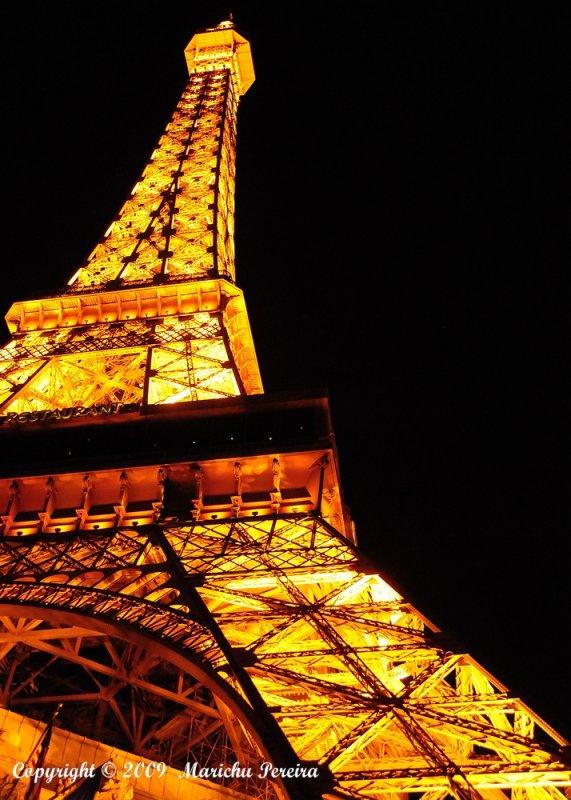 Eifel Tower of Paris Las Vegas
