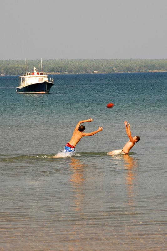 Summer fun in Lake Superior