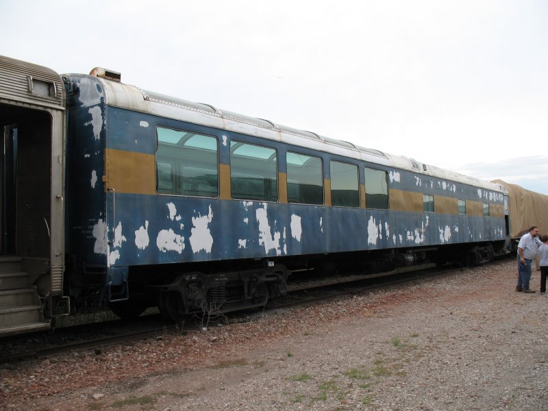 Former SAL Sun Lounge car City of Miami at the Gateway Rail Services Tour.