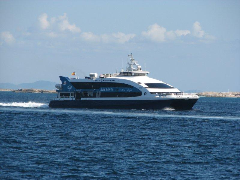 New Fast Ferry Espalmador Jet