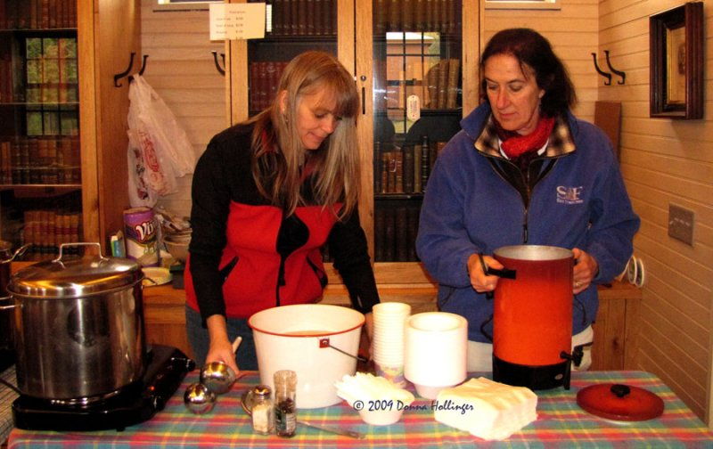Selling Soup at the Apple Fest