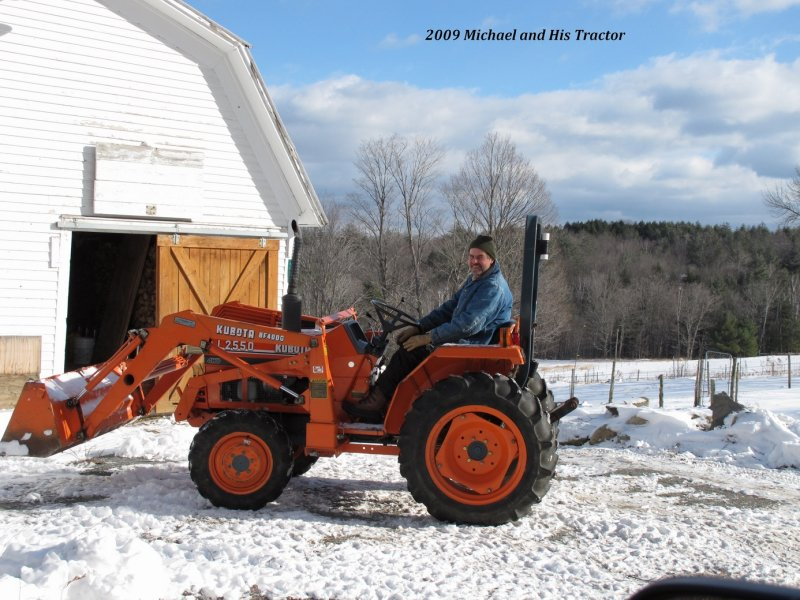 Michael and His Tractor