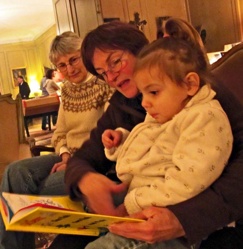 Ann, Martha and Flora Reading