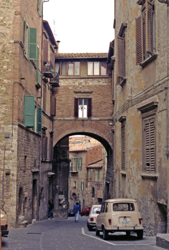 Side street at noon
