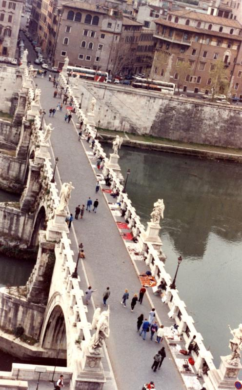 Bridge from Trastevere