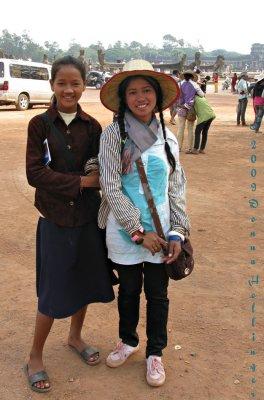 Sweet Vendors at Angkor