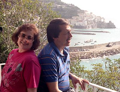 Carolyn and Stan, Miramalfi