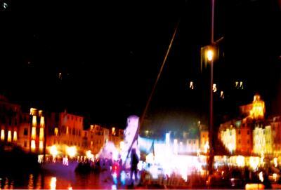 Fireworks in Portofino