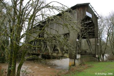 Chambers Covered Railroad Bridge