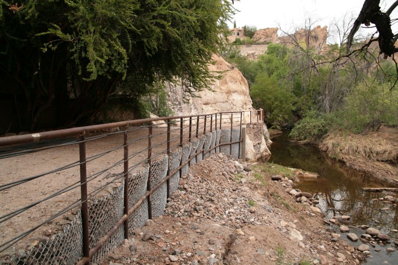 The Catwalk repair project is completed after being closed from flood damage