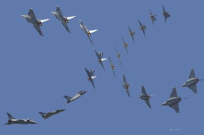 Rafale Sequence ( thank you photoshop)