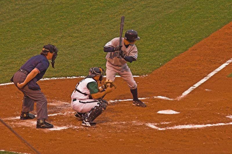A Clipper at bat