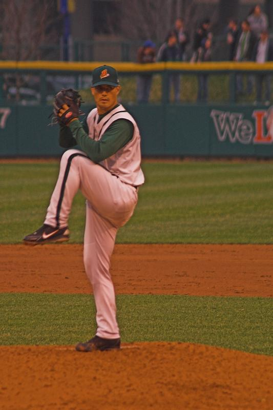 Guthrie pitched a 5 inning shutout