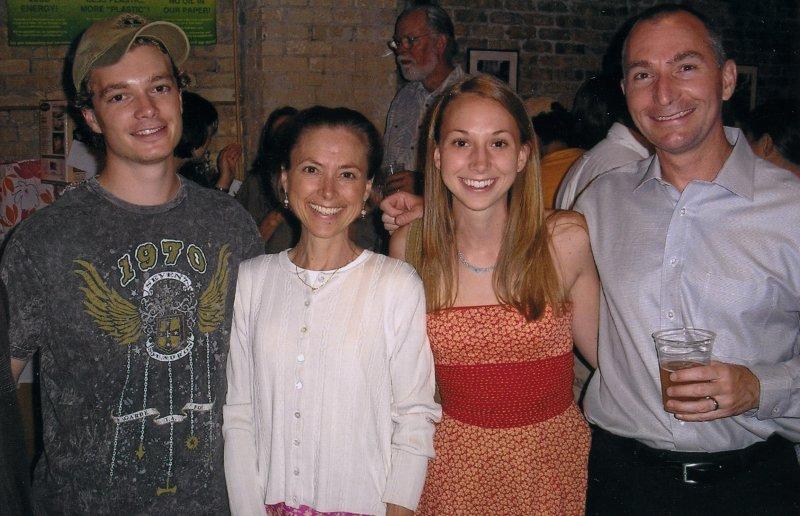 Kris & Corey  (Wigdale) Chambas with family