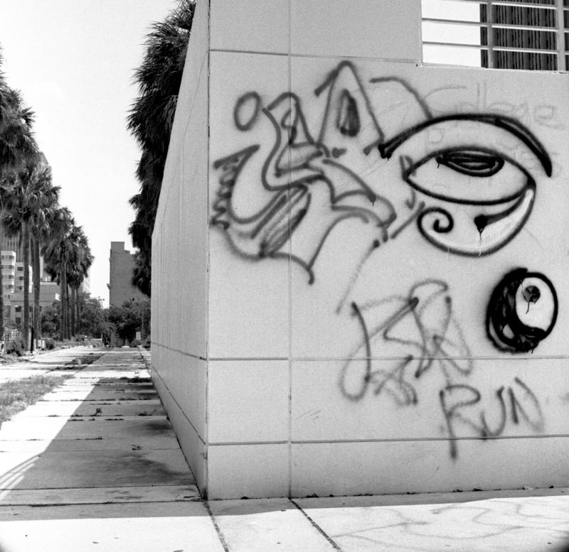 Tampa Museum of Art Graffiti