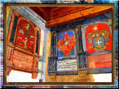 XII-XVI Century Geraldics In Chillon Castle, Switzerland