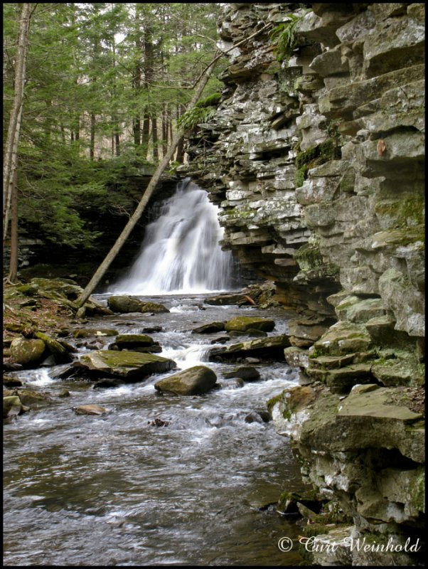 Sand Run Falls-Tioga County