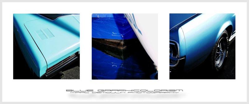 Blue Graphicolorism