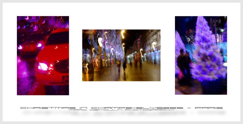 Christmas in Champs-Elysees - Paris