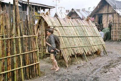 Nago Hut. Apatani tribe