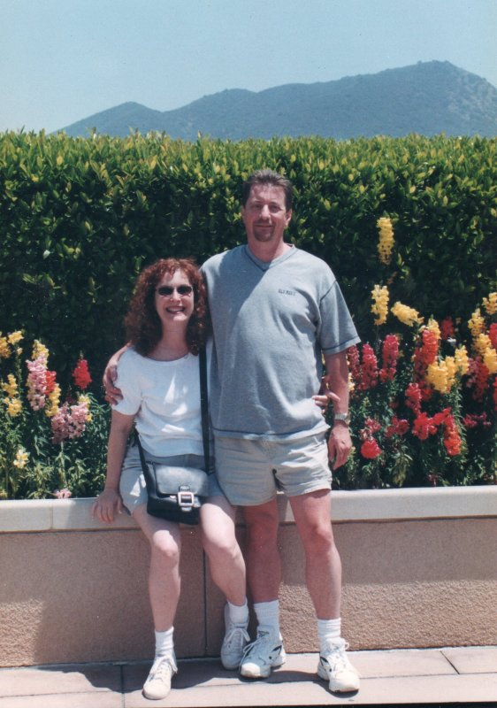 Frances and Doyle in L A 1997.jpg