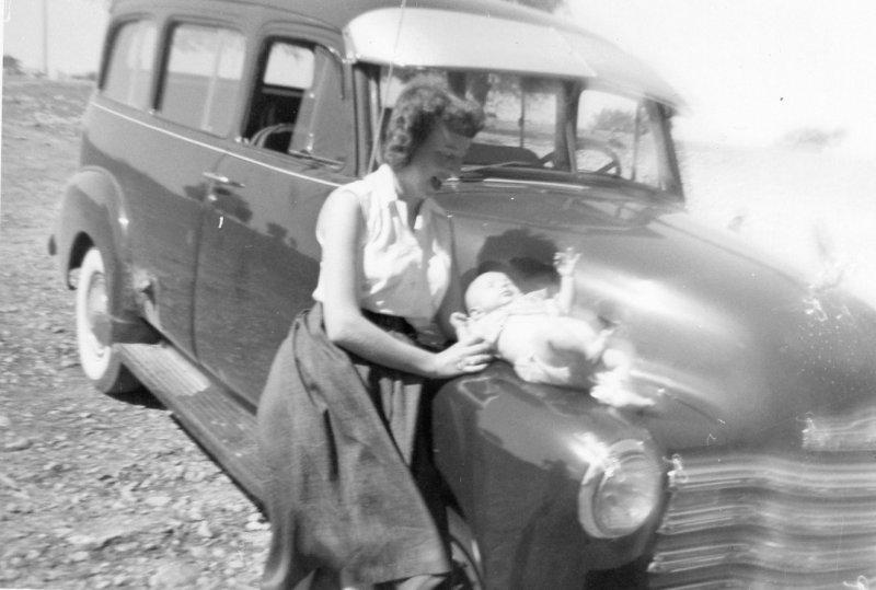 Mom and Larry  Oct 1954.jpg