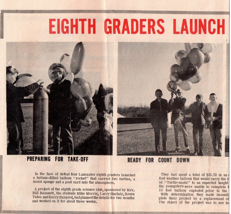Story in the Lancaster Herald Dec 20 1967.jpg