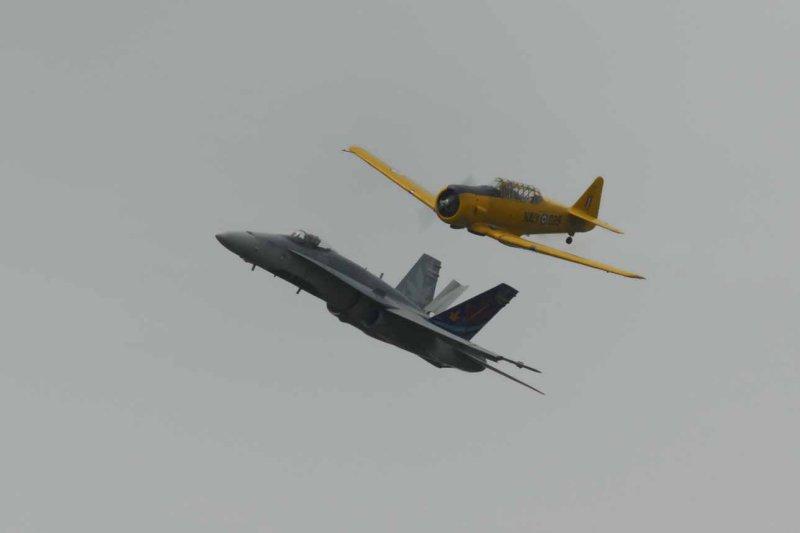 F-18 and Harvard