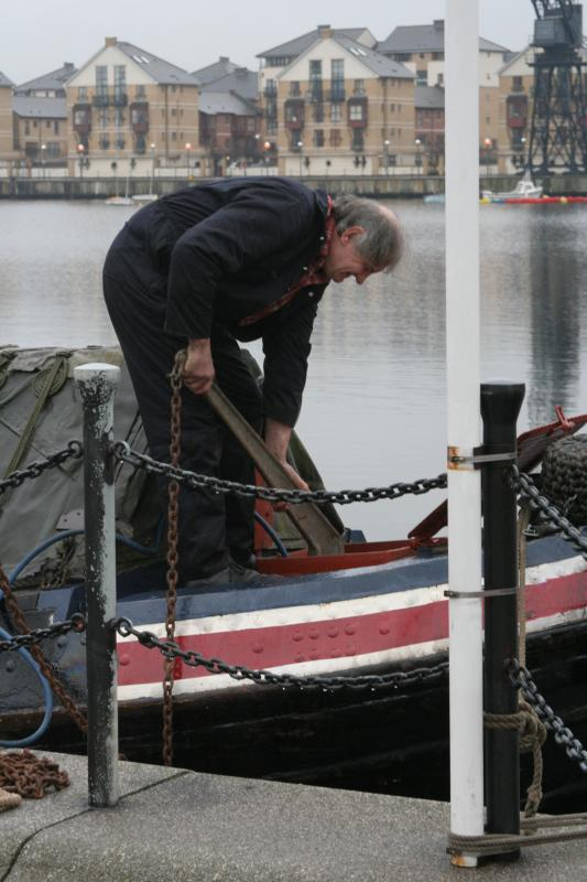 Getting the anchor ready