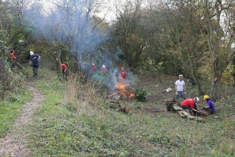 Tirforing & bonfire