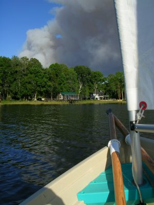 May Fires #7 - Bradford fire with house and sail.JPG