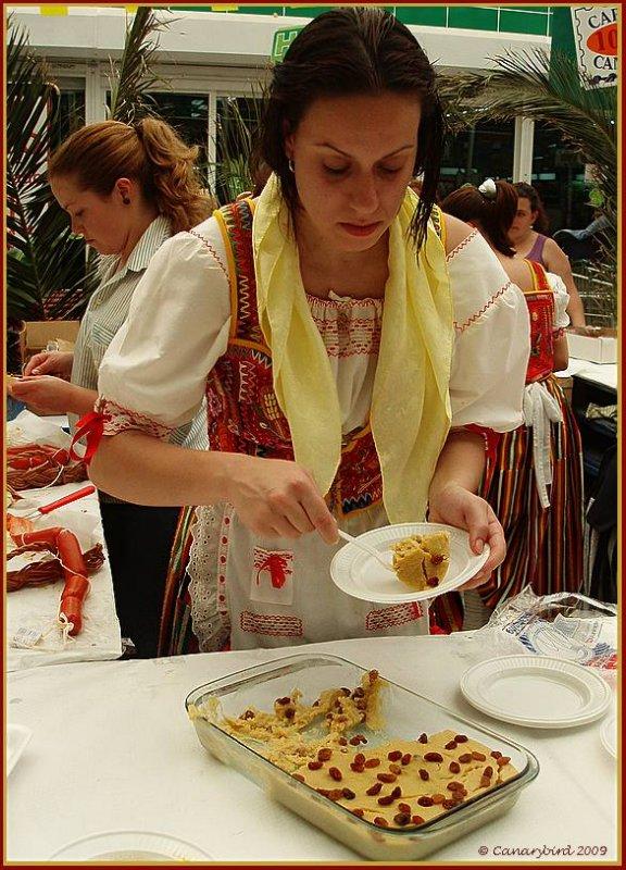 serving frangollo