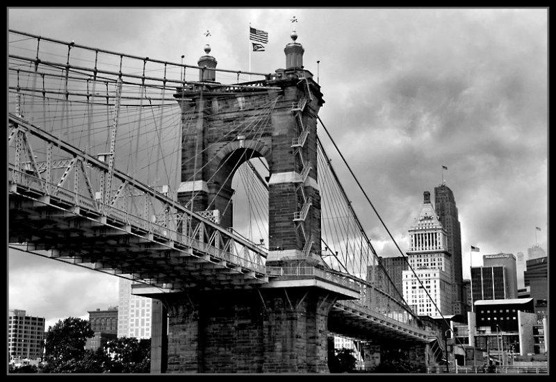 John A. Roebling Suspension Bridge