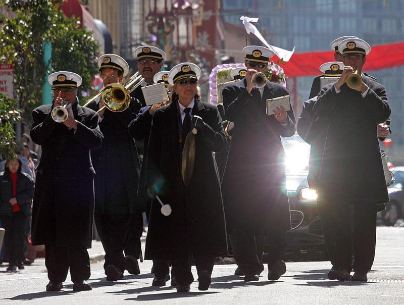 New Orleans style funeral