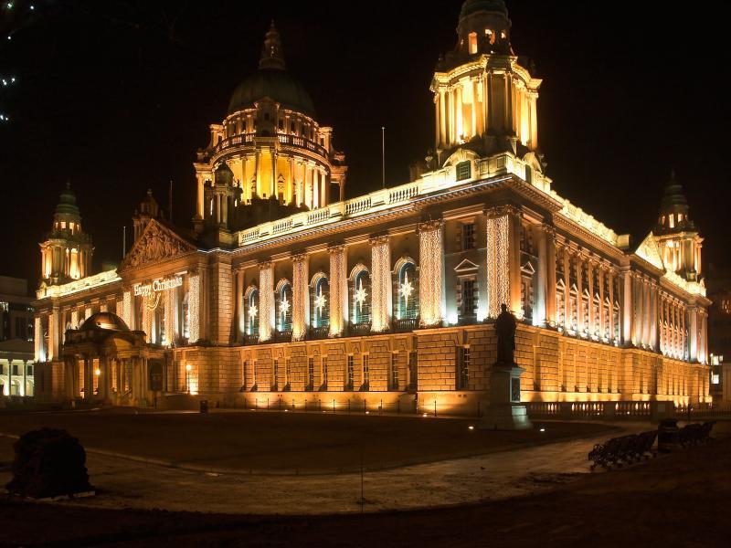 City Hall - Xmas lights