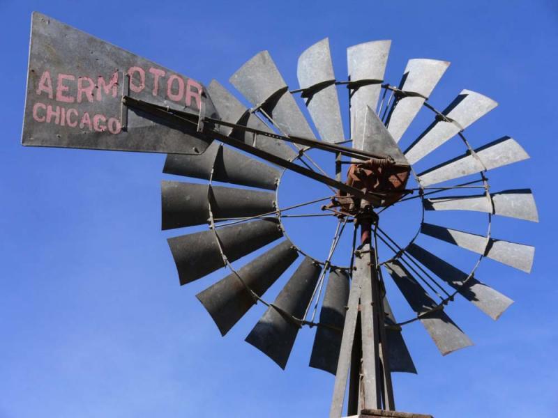 Windmill, Oro Grande, California, 2006