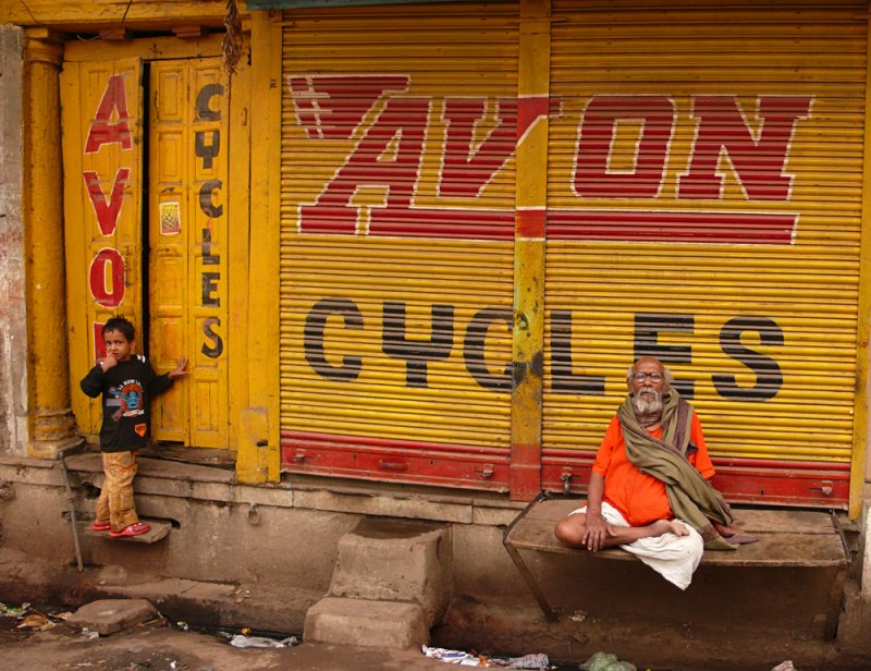 The scale, Varanasi, India, 2008