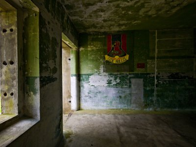 World War II bunker, Fort Canby, Ilwaco, Washington, 2009