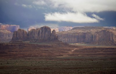 Clearing storm, Monument Valley, Arizona, 2009